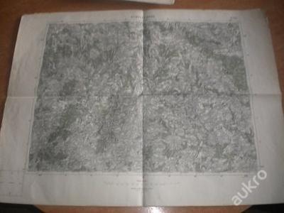 mapa Německý Brod - 1:75 000