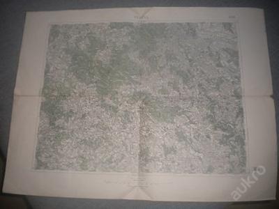 mapa Polička -1:75 000