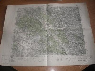 mapa Rychnov nad Kněžnou - 1:75 000