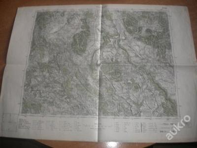 mapa Trutnov - 1:75 000