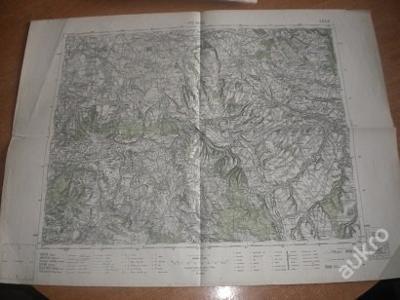 mapa Vysoké Mýto - 1:75 000