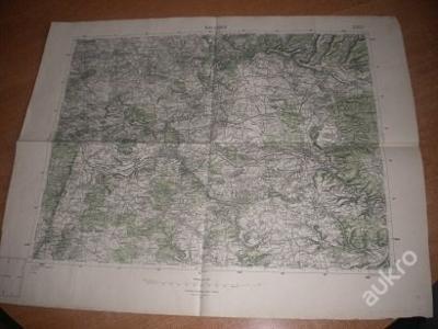 mapa Rakovník - 1:75 000
