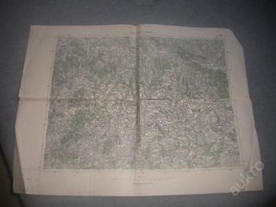 mapa Havlíčkův Brod -1:75 000