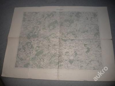 mapa Horažďovice -1:75 000