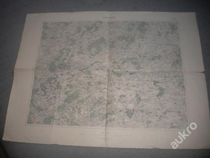 mapa Horažďovice -1:75 000 - Antikvariát