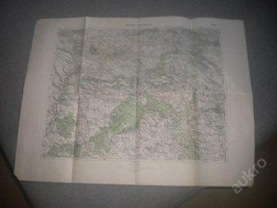 mapa Mladá Boleslav - 1:75 000