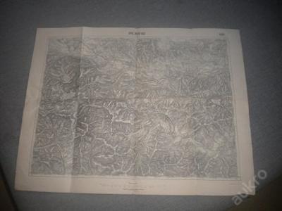 mapa Spišská Nová Ves - 1:75 000