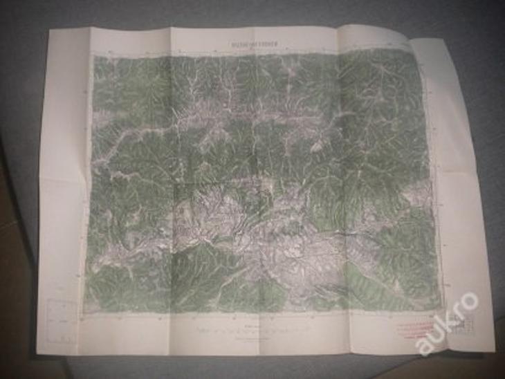 mapa Brezno nad Hronom - 1:75 000 - Antikvariát
