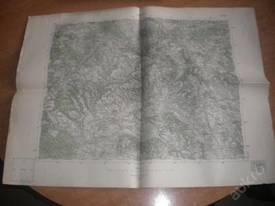 mapa Turnov - 1:75 000