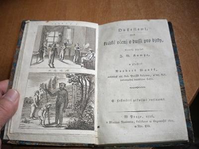 Dušesloví - krátké učení o duši pro dítky - 1836