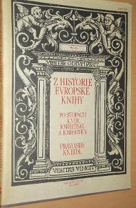 Z historie evropské knihy - Kneidl