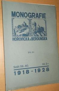 Monografie Hořovicka a Berounska díl. III.