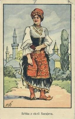 Pečecká a Akar Srbka z okolí Sarajeva