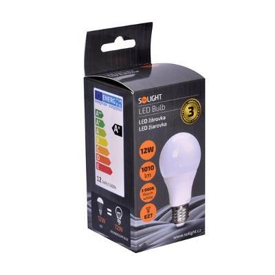 LED  E27/12W 3000K teplá bílá