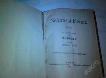 Nejdražší klenot-Moberly vydáno:1913