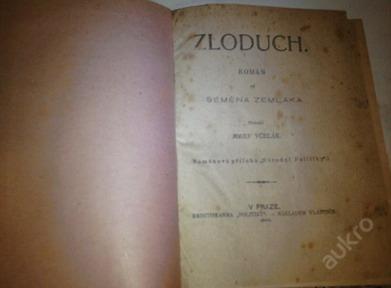 Zloduch-Semena Zemlaka vydáno: 1905