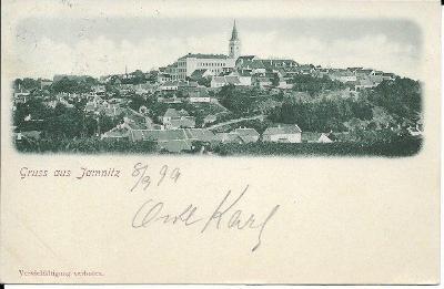 Jamnitz - Jemnice , okr Třebíč , DA