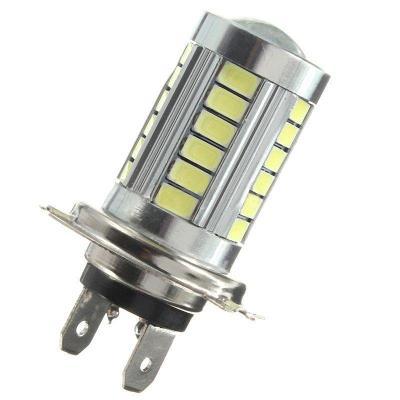LED žárovka H7 12V - 24V 33x 5630 SMD 6000K 10W