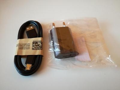 Síťová USB nabíječka + micro USB kabel