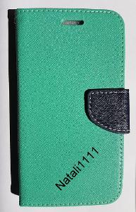 Pouzdro Wallet Fancy Samsung A3 A320 2017 mint