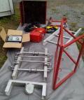 OSTAZ VE-150 Stavební žebříkový dopravník 15 metrů