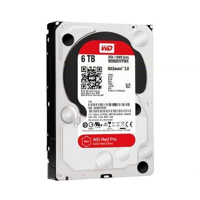 WD RED Pro NAS EDITON 6TB SATAIII/600 WD6001FFWX