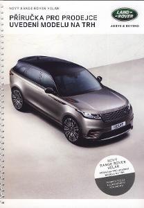 Range Rover Velar prospekt katalog 2017 CZ rarita