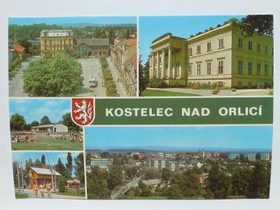 Kostelec nad Orlicí, Rychnov - sídliště - zámek - Autokempink- autobus