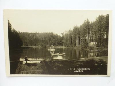 Lázně Velichovky, Jaroměř, Náchod - JEZÍRKO 1932