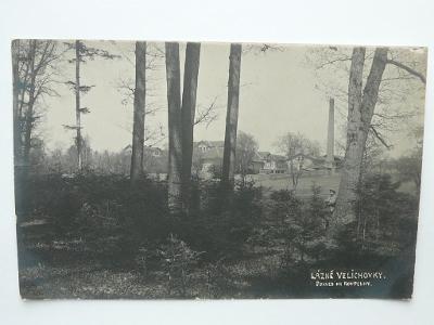 Lázně Velichovky, Náchod - POHLED NA KOUPELNY 1922