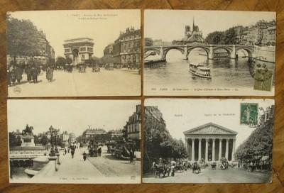 Paříž - cca 1910 - (E718)