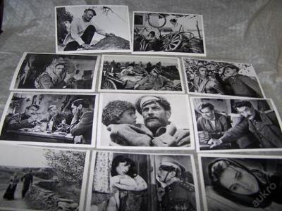 11 ks fotografie z filmu TICHÝ DON z filmu  /149/