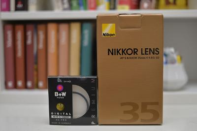 Nikon 35mm f/1,8G ED zánovní