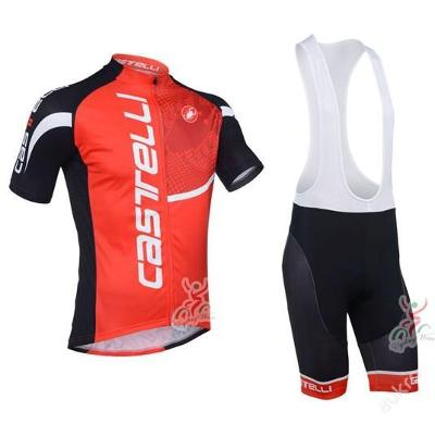komplet cyklo dres Castelli - velikost dle vás