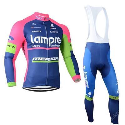 zimní komplet cyklo dres Lampre Merida - vel.???