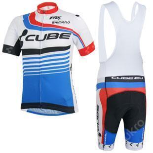 komplet cyklo dres 2014 CUBE