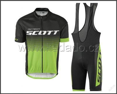 letní komplet cyklo dres 2017 Scott -vel.dle vás