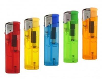 Piezo AiT Zapalovač cigaretový transparentní barva