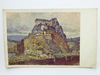 Oravský zámok 1921