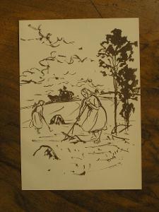 V.Sedláček - Orig. litografie - (F945)