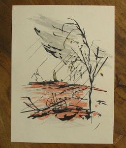 V.Sedláček - Orig. litografie - (F416)