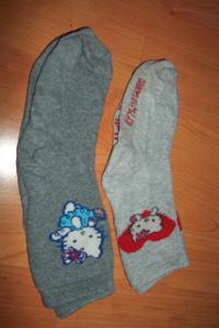 Ponožky Hello Kitty 21/23**** 2 ks