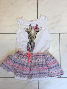 Krásné dívčí šaty Takko vel.98