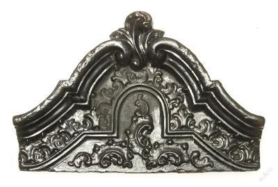 Kachel - Druhé rokoko 1830 až 1865 - (F199)