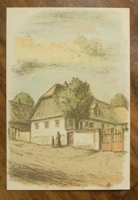 Karel Müller - orig. litografie - (E397)