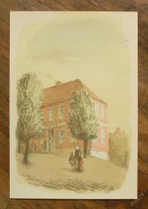 Karel Müller - orig. litografie - (E399)