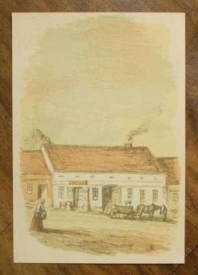 Karel Müller - orig. litografie - (E400)
