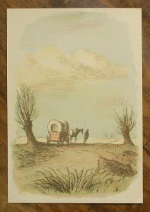 Karel Müller - orig. litografie - (E401)