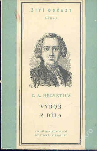 Claude Adrien Helvétius - Výbor z díla
