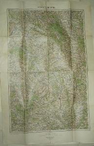 Vysoké Mýto 45x65cm - mapa